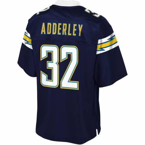 NFL PRO LINE チャージャーズ ジャージ 紺 ネイビー スポーツ アウトドア アメリカンフットボール メンズ 【 Nasir Adderley Los Angeles Chargers Player Jersey - Navy 】 Navy