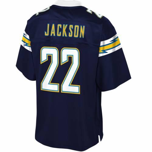 NFL PRO LINE チャージャーズ チーム ジャージ 紺 ネイビー スポーツ アウトドア アメリカンフットボール メンズ 【 Justin Jackson Los Angeles Chargers Team Player Jersey - Navy 】 Navy