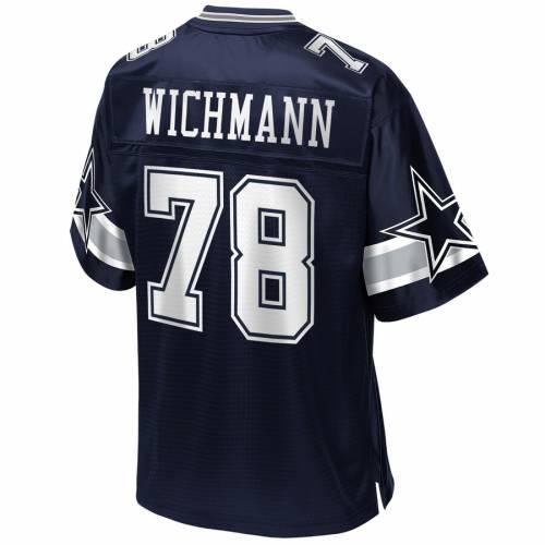 NFL PRO LINE ダラス カウボーイズ チーム ジャージ 紺 ネイビー スポーツ アウトドア アメリカンフットボール メンズ 【 Cody Wichmann Dallas Cowboys Team Player Jersey - Navy 】 Navy