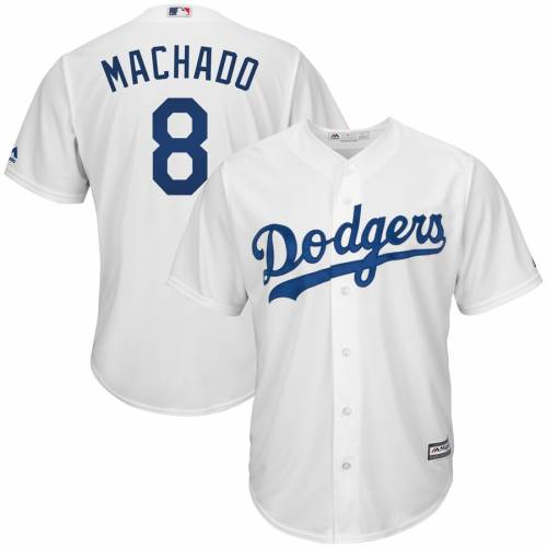 マジェスティック MAJESTIC ドジャース クール ジャージ 白 ホワイト スポーツ アウトドア 野球 ソフトボール レプリカユニフォーム メンズ 【 Manny Machado Los Angeles Dodgers Big And Tall Cool Base P