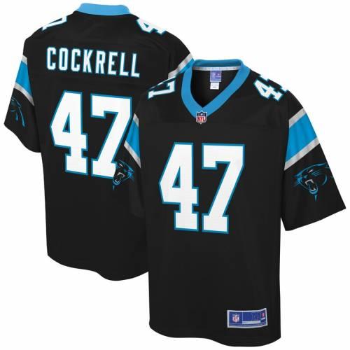 NFL PRO LINE カロライナ パンサーズ ジャージ 黒 ブラック スポーツ アウトドア アメリカンフットボール メンズ 【 Ross Cockrell Carolina Panthers Player Jersey - Black 】 Black