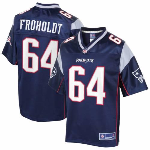 NFL PRO LINE ペイトリオッツ ジャージ 紺 ネイビー スポーツ アウトドア アメリカンフットボール メンズ 【 Hjalte Froholdt New England Patriots Player Jersey - Navy 】 Navy
