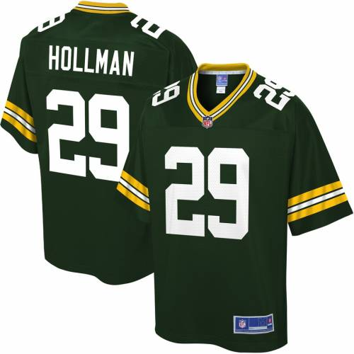 NFL PRO LINE 緑 グリーン パッカーズ ジャージ スポーツ アウトドア アメリカンフットボール メンズ 【 Kadar Hollman Green Bay Packers Player Jersey - Green 】 Green