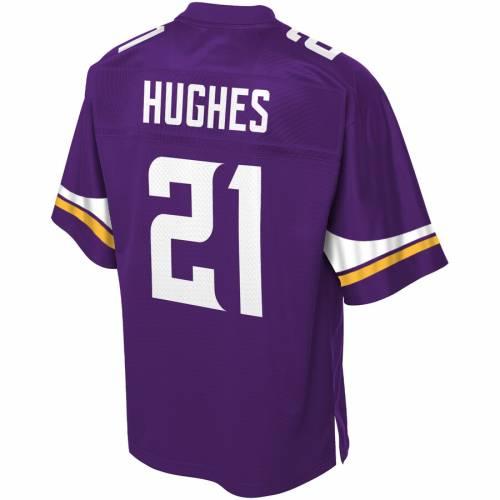 NFL PRO LINE ミネソタ バイキングス ジャージ 紫 パープル スポーツ アウトドア アメリカンフットボール メンズ 【 Mike Hughes Minnesota Vikings Player Jersey - Purple 】 Purple
