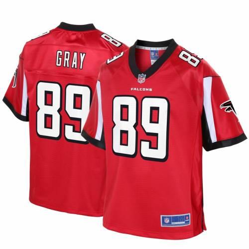 NFL PRO LINE 灰色 グレー グレイ アトランタ ファルコンズ ジャージ 赤 レッド スポーツ アウトドア アメリカンフットボール メンズ 【 Alex Gray Atlanta Falcons Player Jersey - Red 】 Red