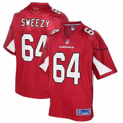 NFL PRO LINE アリゾナ カーディナルス チーム ジャージ 赤 カーディナル J.r. スポーツ アウトドア アメリカンフットボール メンズ 【 J.r. Sweezy Arizona Cardinals Team Player Jersey - Cardinal 】 Cardinal