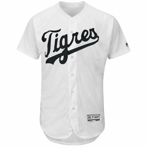 マジェスティック MAJESTIC デトロイト タイガース チーム ジャージ 白 ホワイト スポーツ アウトドア 野球 ソフトボール レプリカユニフォーム メンズ 【 Detroit Tigers Hispanic Heritage Tigres Fl