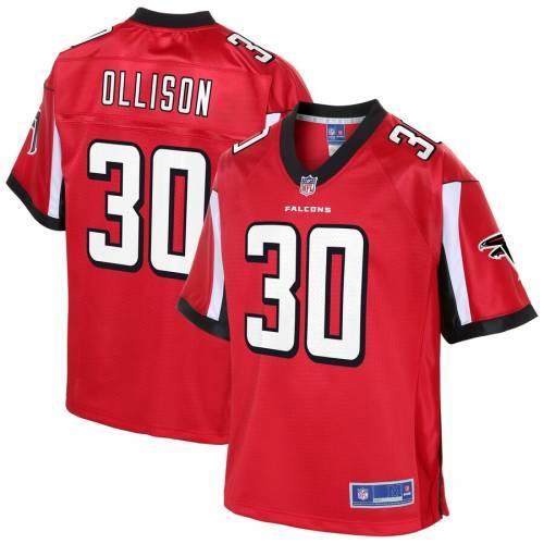 NFL PRO LINE アトランタ ファルコンズ ジャージ 赤 レッド スポーツ アウトドア アメリカンフットボール メンズ 【 Qadree Ollison Atlanta Falcons Player Jersey - Red 】 Red