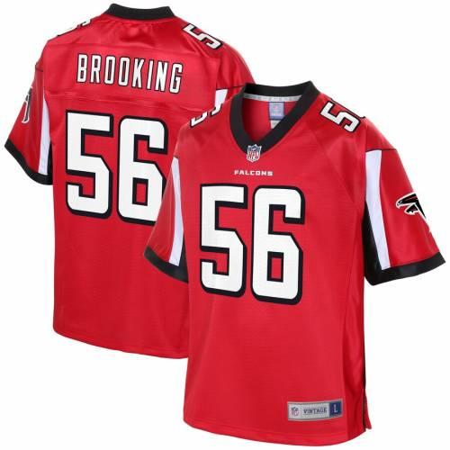 NFL PRO LINE アトランタ ファルコンズ ジャージ 赤 レッド スポーツ アウトドア アメリカンフットボール メンズ 【 Keith Brooking Atlanta Falcons Retired Player Jersey - Red 】 Red