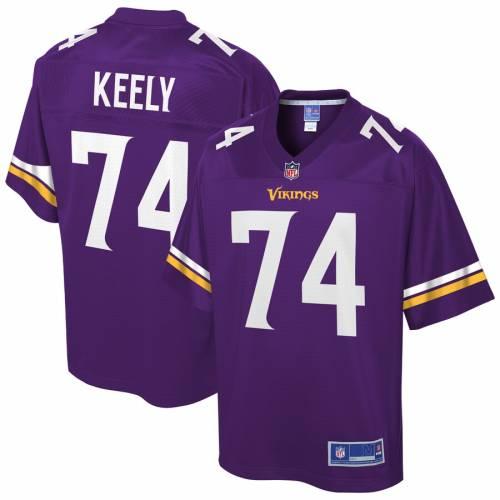NFL PRO LINE ミネソタ バイキングス チーム ジャージ 紫 パープル スポーツ アウトドア アメリカンフットボール メンズ 【 Stacy Keely Minnesota Vikings Team Player Jersey - Purple 】 Purple