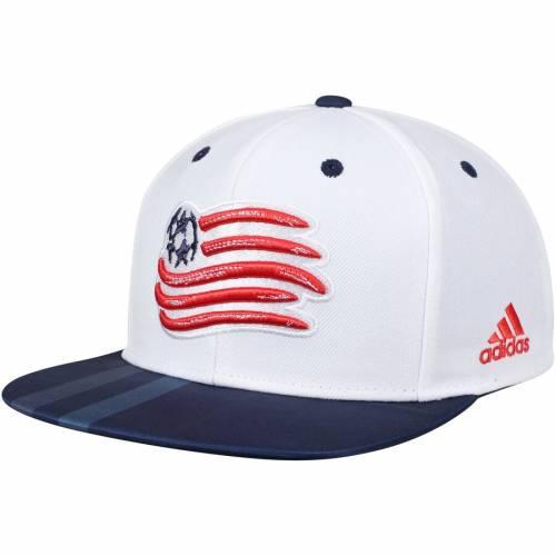 アディダス ADIDAS ジャージ スナップバック バッグ キャップ 帽子 メンズキャップ メンズ 【 New England Revolution Jersey Hook Flatbrim Snapback Adjustable Hat - White/navy 】 White/navy