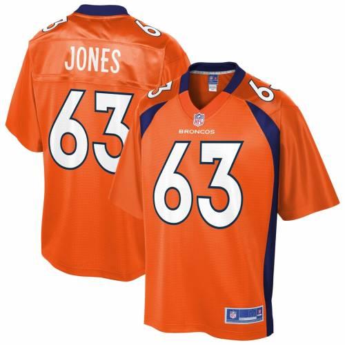 NFL PRO LINE デンバー ブロンコス ジャージ 橙 オレンジ スポーツ アウトドア アメリカンフットボール メンズ 【 Tyler Jones Denver Broncos Player Jersey - Orange 】 Orange