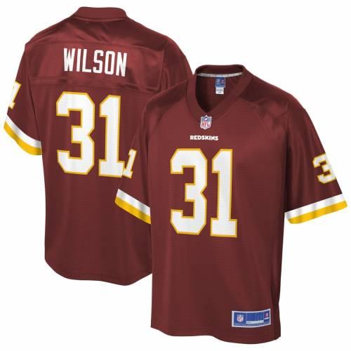 NFL PRO LINE ウィルソン ワシントン レッドスキンズ ジャージ ワイン色 バーガンディー スポーツ アウトドア アメリカンフットボール メンズ 【 Shaun Wilson Washington Redskins Player Jersey - Burgund
