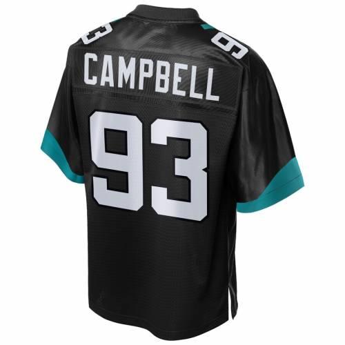 NFL PRO LINE ジャクソンビル ジャガース チーム ジャージ 黒 ブラック スポーツ アウトドア アメリカンフットボール メンズ 【 Calais Campbell Jacksonville Jaguars Team Player Jersey - Black 】 Black