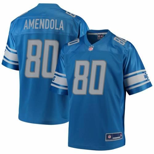 NFL PRO LINE デトロイト ライオンズ チーム ジャージ 青 ブルー スポーツ アウトドア アメリカンフットボール メンズ 【 Danny Amendola Detroit Lions Team Player Jersey - Blue 】 Blue