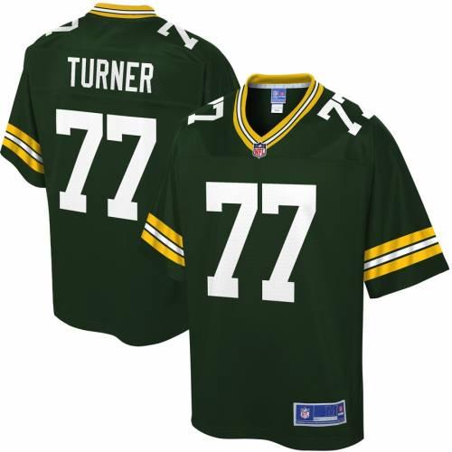 NFL PRO LINE 緑 グリーン パッカーズ ジャージ スポーツ アウトドア アメリカンフットボール メンズ 【 Billy Turner Green Bay Packers Player Jersey - Green 】 Green