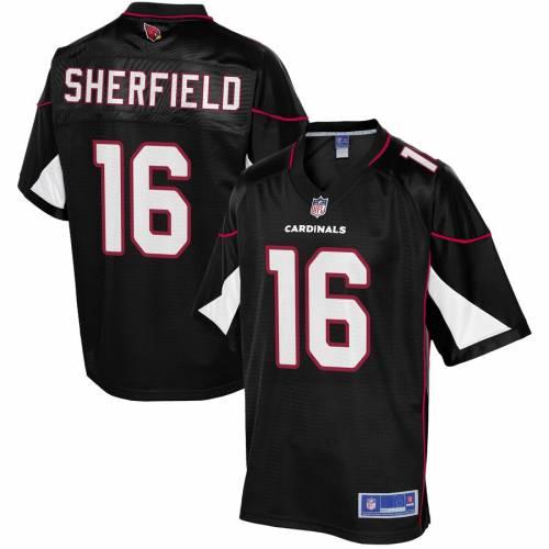 NFL PRO LINE アリゾナ カーディナルス ジャージ 黒 ブラック スポーツ アウトドア アメリカンフットボール メンズ 【 Trent Sherfield Arizona Cardinals Alternate Player Jersey - Black 】 Black