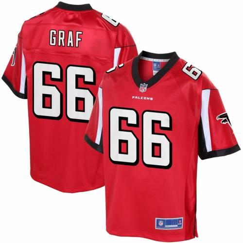 NFL PRO LINE ケビン アトランタ ファルコンズ ジャージ 赤 レッド スポーツ アウトドア アメリカンフットボール メンズ 【 Kevin Graf Atlanta Falcons Player Jersey - Red 】 Red