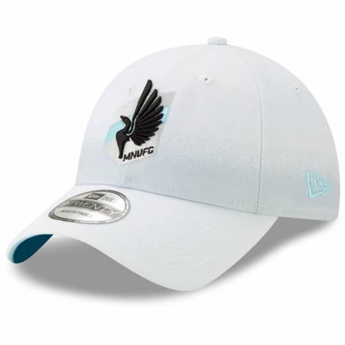 ニューエラ NEW ERA ミネソタ ジャージ 白 ホワイト バッグ キャップ 帽子 メンズキャップ メンズ 【 Minnesota United Fc Jersey Hook 9twenty Adjustable Hat - White 】 White