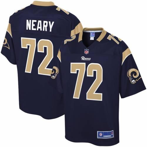 NFL PRO LINE ラムズ チーム ジャージ 紺 ネイビー スポーツ アウトドア アメリカンフットボール メンズ 【 Aaron Neary Los Angeles Rams Team Color Player Jersey - Navy 】 Navy