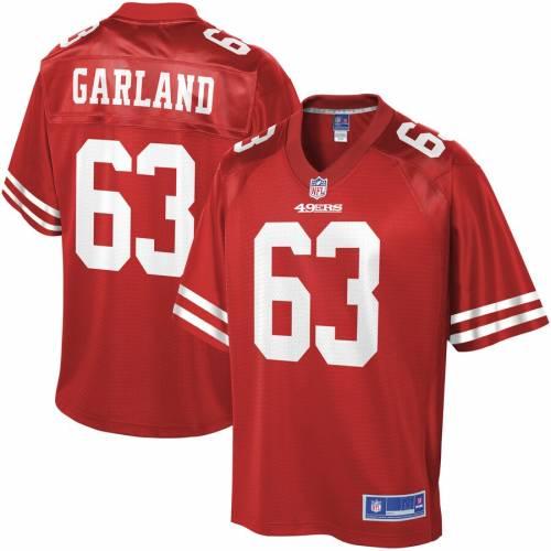 NFL PRO LINE フォーティーナイナーズ ジャージ スポーツ アウトドア アメリカンフットボール メンズ 【 Ben Garland San Francisco 49ers Player Jersey - Scarlet 】 Scarlet