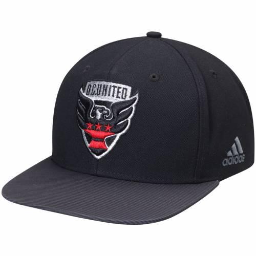 アディダス ADIDAS ジャージ スナップバック バッグ 黒 ブラック D.c. キャップ 帽子 メンズキャップ メンズ 【 D.c. United Jersey Hook Flatbrim Snapback Adjustable Hat - Black 】 Black