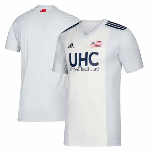 アディダス ADIDAS ジャージ 白 ホワイト スポーツ アウトドア サッカー フットサル メンズ レプリカユニフォーム 【 New England Revolution 2019 Colonial Replica Jersey - White 】 White
