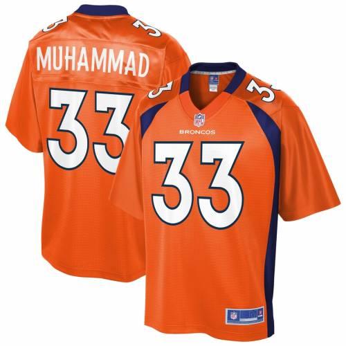 NFL PRO LINE デンバー ブロンコス チーム ジャージ 橙 オレンジ スポーツ アウトドア アメリカンフットボール メンズ 【 Khalfani Muhammad Denver Broncos Team Player Jersey - Orange 】 Orange