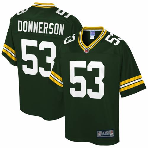 NFL PRO LINE プロ 緑 グリーン パッカーズ チーム ジャージ & 【 NFL GREEN TEAM PRO LINE KENDALL DONNERSON BAY PACKERS BIG TALL PLAYER JERSEY 】 スポーツ アウトドア アメリカンフットボール