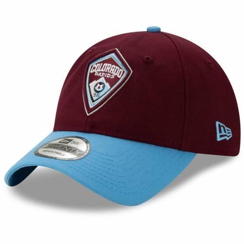 ニューエラ NEW ERA コロラド ジャージ ワイン色 バーガンディー バッグ キャップ 帽子 メンズキャップ メンズ 【 Colorado Rapids Jersey Hook 9twenty Adjustable Hat - Burgundy 】 Burgundy