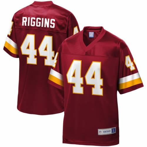 NFL PRO LINE ワシントン レッドスキンズ ジャージ ワイン色 バーガンディー スポーツ アウトドア アメリカンフットボール メンズ 【 John Riggins Washington Redskins Retired Player Replica Jersey - Burgund