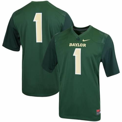 ナイキ NIKE ベイラー ベアーズ カレッジ ジャージ 緑 グリーン スポーツ アウトドア アメリカンフットボール メンズ 【 Baylor Bears College Replica Football Jersey - Green 】 Green
