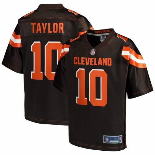 NFL PRO LINE クリーブランド ブラウンズ ジャージ 茶 ブラウン スポーツ アウトドア アメリカンフットボール メンズ 【 Taywan Taylor Cleveland Browns Player Jersey - Brown 】 Brown