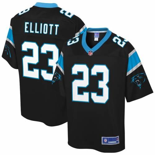 NFL PRO LINE カロライナ パンサーズ チーム ジャージ 黒 ブラック スポーツ アウトドア アメリカンフットボール メンズ 【 Javien Elliott Carolina Panthers Team Color Player Jersey - Black 】 Black