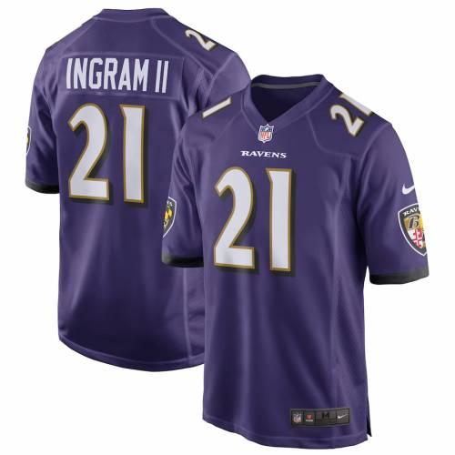 ナイキ NIKE ボルティモア レイブンズ ゲーム ジャージ 紫 パープル スポーツ アウトドア アメリカンフットボール メンズ 【 Mark Ingram Baltimore Ravens Game Player Jersey - Purple 】 Purple
