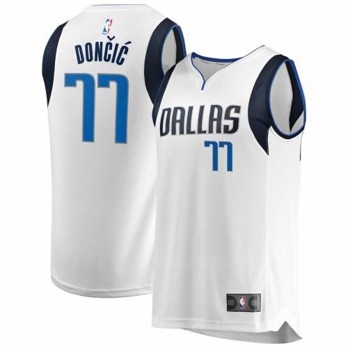 FANATICS BRANDED ダラス マーベリックス ファスト ジャージ アイコン スポーツ アウトドア バスケットボール メンズ レプリカユニフォーム 【 Luka Doncic Dallas Mavericks 2018 Nba Draft First Round Pick