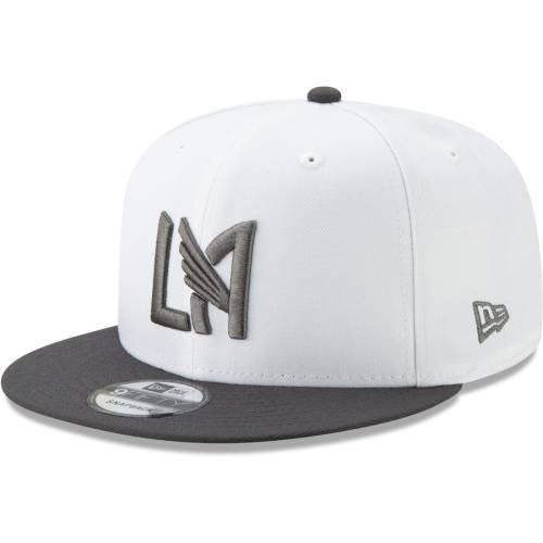 ニューエラ NEW ERA ジャージ スナップバック バッグ 白 ホワイト キャップ 帽子 メンズキャップ メンズ 【 Lafc Jersey Hook 9fifty Adjustable Snapback Hat - White 】 White