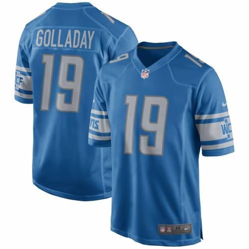 ナイキ NIKE デトロイト ライオンズ ゲーム ジャージ スポーツ アウトドア アメリカンフットボール メンズ 【 Kenny Golladay Detroit Lions Game Player Jersey 】 Blue