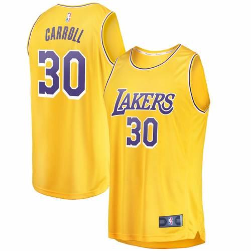 FANATICS BRANDED レイカーズ ファスト ジャージ アイコン スポーツ アウトドア バスケットボール メンズ レプリカユニフォーム 【 Jeffrey Carroll Los Angeles Lakers Fast Break Replica Jersey - Icon Edition -