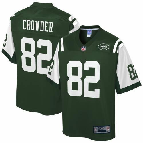 NFL PRO LINE ジェッツ ジャージ 緑 グリーン スポーツ アウトドア アメリカンフットボール メンズ 【 Jamison Crowder New York Jets Big And Tall Player Jersey - Gotham Green 】 Gotham Green