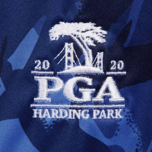 RLX 青 ブルー 【 BLUE RLX 2020 PGA CHAMPIONSHIP STRATUS HALFZIP PULLOVER JACKET 】 メンズファッション コート ジャケット