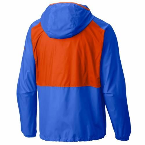 コロンビア COLUMBIA シティ サンダー ウィンドブレーカー 青 ブルー メンズファッション コート ジャケット メンズ 【 Oklahoma City Thunder Flash Forward Full-zip Windbreaker Jacket - Blue 】 Blue