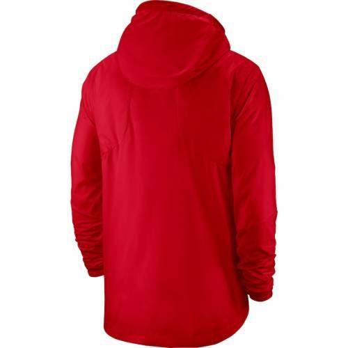 ナイキ NIKE 赤 レッド メンズファッション コート ジャケット メンズ 【 Georgia Bulldogs 2019 Player Repel Quarter-zip Hooded Jacket - Red 】 Red