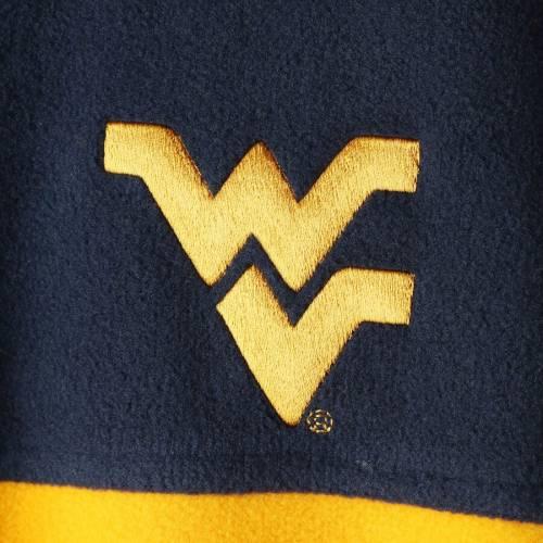 コロンビア COLUMBIA バージニア フリース チーム メンズファッション コート ジャケット メンズ 【 West Virginia Mountaineers Flanker Iii Fleece Team Full-zip Jacket - Navy/gold 】 Navy/gold