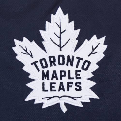 JH DESIGN トロント ナイロン メンズファッション コート ジャケット メンズ 【 Toronto Maple Leafs Full-zip Nylon Jacket - Navy/gray 】 Navy/gray