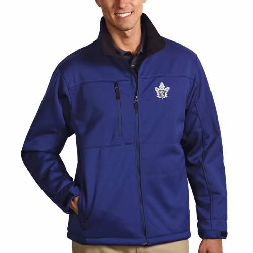 ANTIGUA トロント メンズファッション コート ジャケット メンズ 【 Toronto Maple Leafs Traverse Full-zip Jacket - Royal 】 Royal