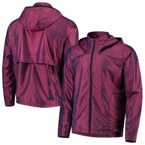 アンダーアーマー UNDER ARMOUR ウォームアップ 紫 パープル メンズファッション コート ジャケット メンズ 【 Nfl Combine Event Warm-up Storm Full-zip Jacket - Purple 】 Purple