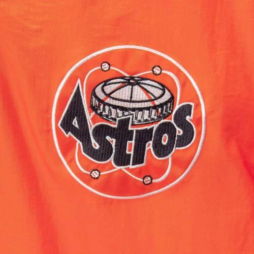 G-III SPORTS BY CARL BANKS ヒューストン アストロズ ゲーム 橙 オレンジ メンズファッション コート ジャケット メンズ 【 Houston Astros Starter Jet Game Quarter-zip Pullover Jacket - Orange 】 Orange