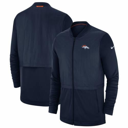 ナイキ NIKE デンバー ブロンコス サイドライン エリート ハイブリッド 紺 ネイビー メンズファッション コート ジャケット メンズ 【 Denver Broncos Sideline Elite Hybrid Full-zip Jacket - Navy 】 Navy