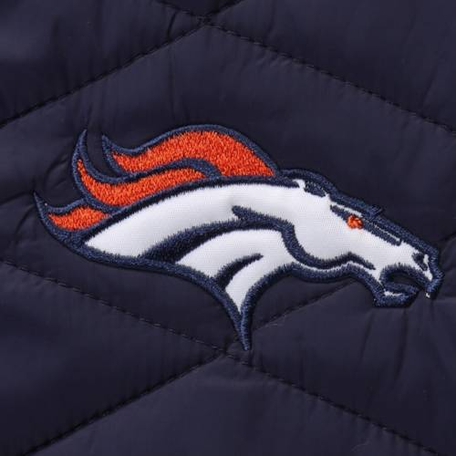 G-III SPORTS BY CARL BANKS デンバー ブロンコス 紺 ネイビー メンズファッション コート ジャケット メンズ 【 Denver Broncos Acclimation 3 In 1 Systems Jacket - Navy 】 Navy